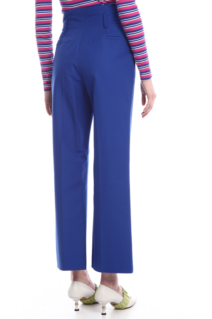 High-waist trousers  Intrend