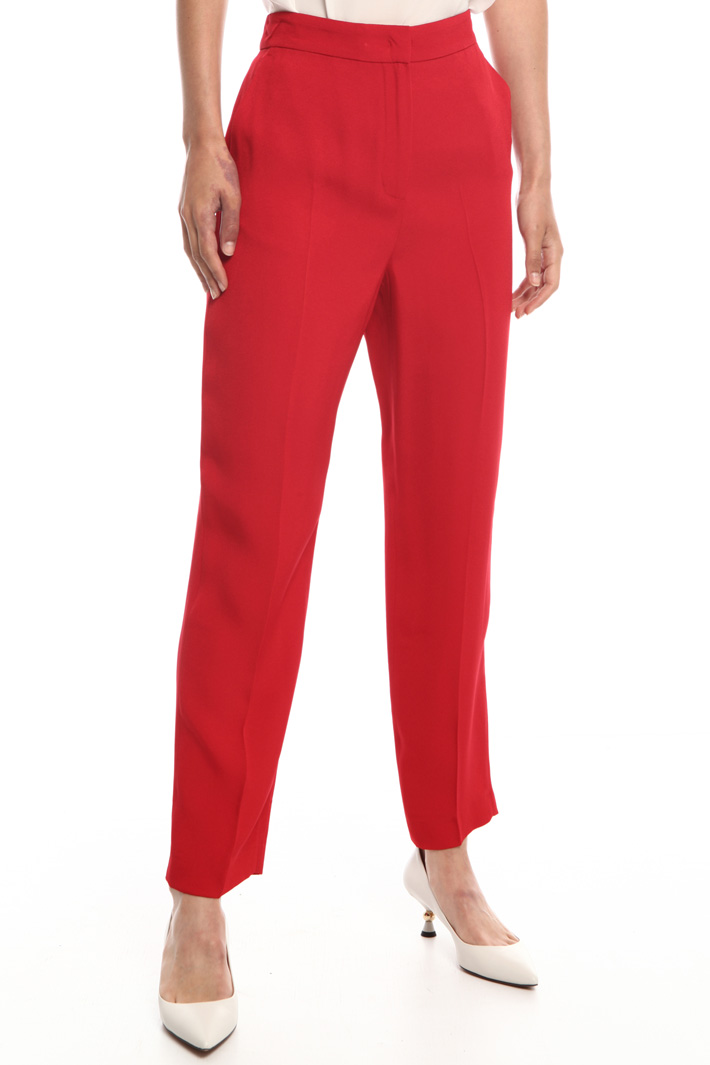 Envers satin trousers   Intrend