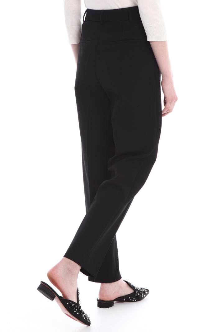 Soft tapered fit trousers Intrend