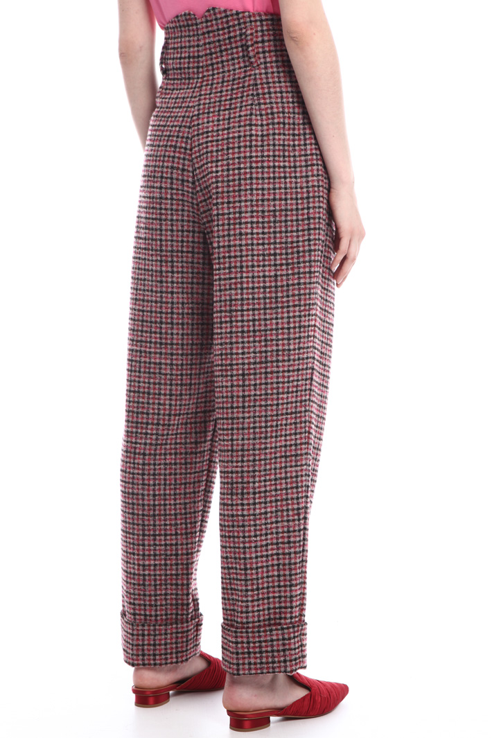 Loose bouclé trousers Intrend
