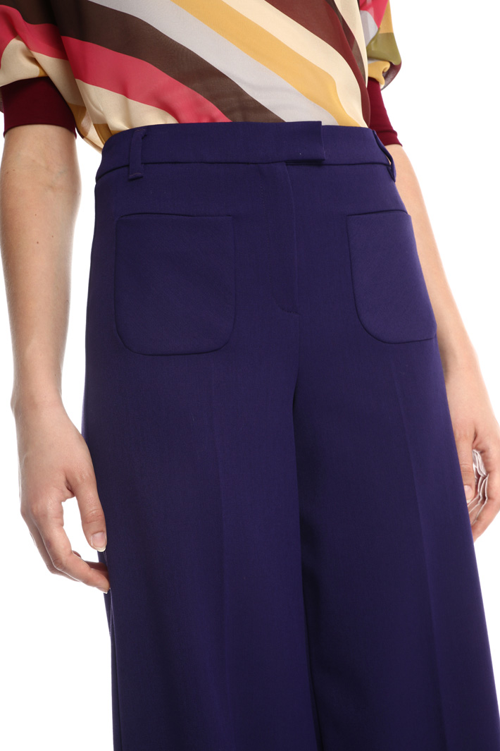 Wide leg trousers Intrend