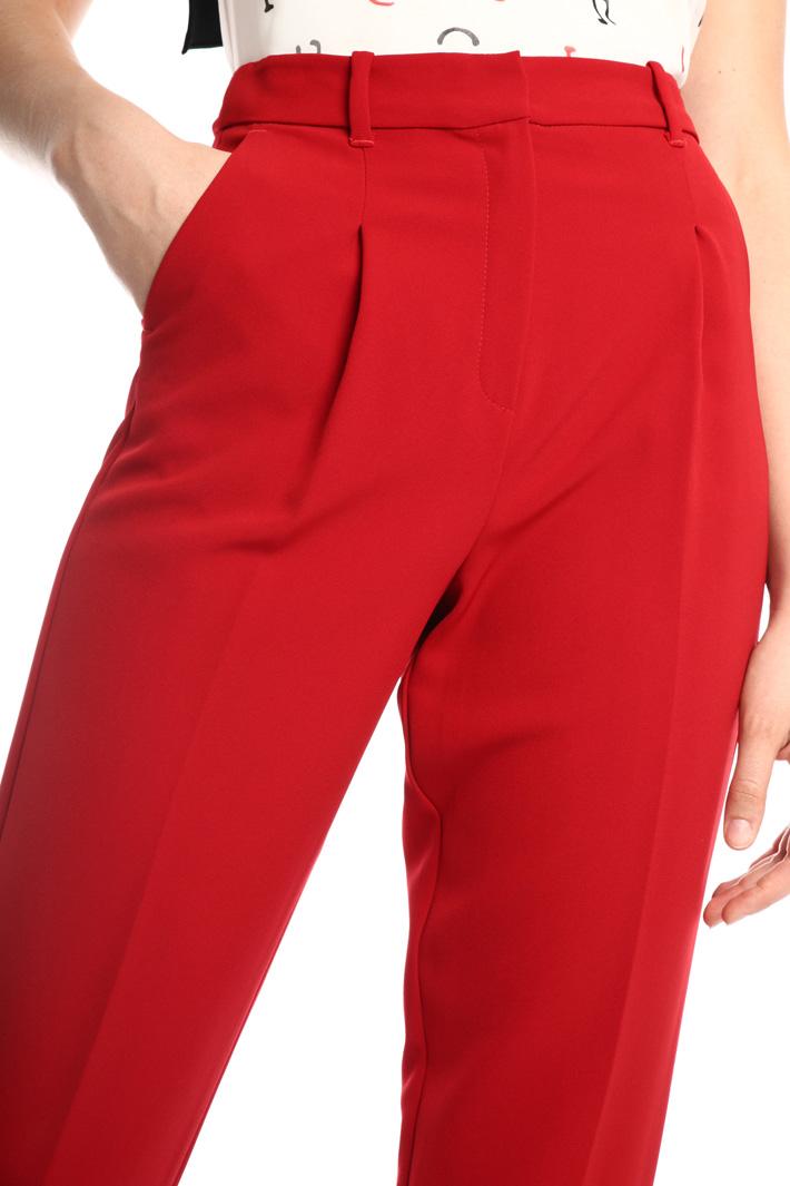 Fluid sablé trousers Intrend