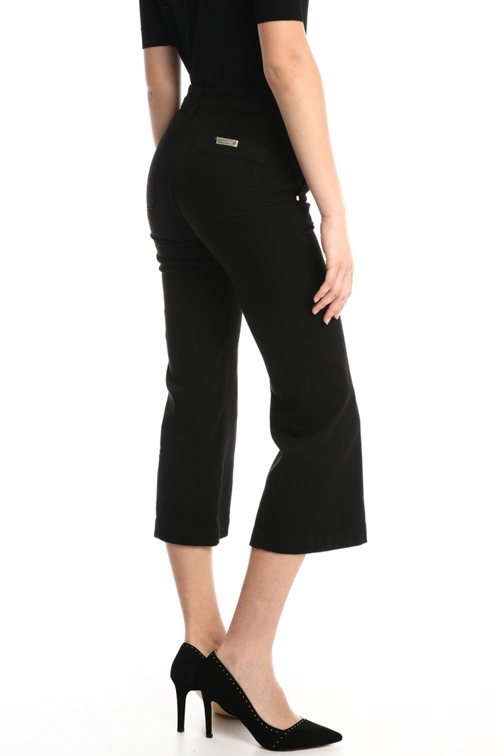 Flared leg bull trousers Intrend