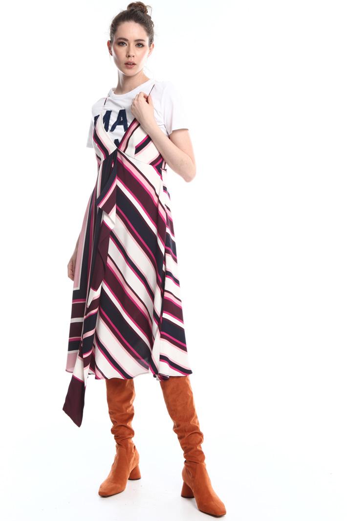 Flounce midi-dress  Intrend