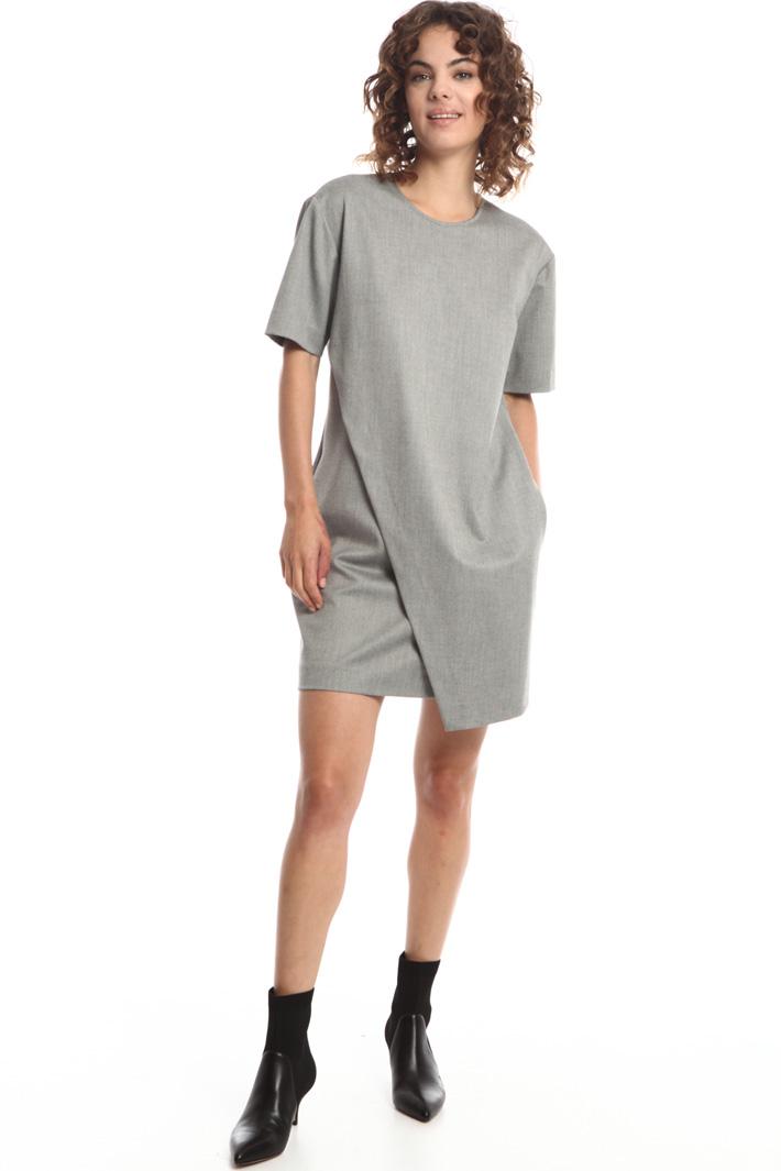 Overlay wrap dress Intrend