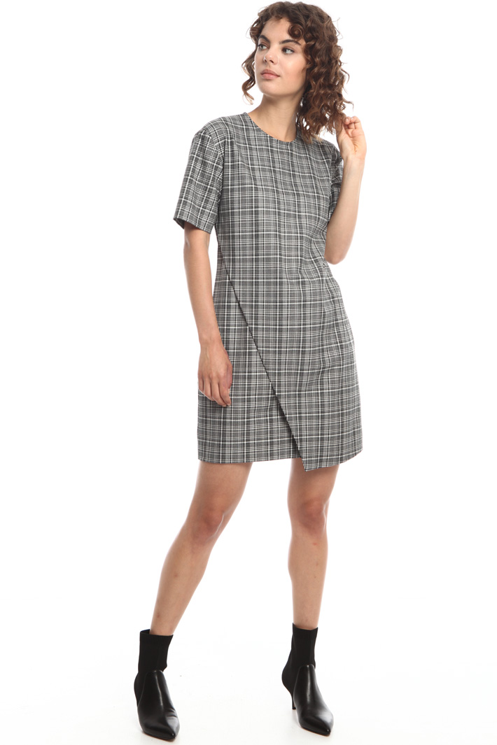 Overlay wrap dress Intrend