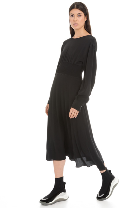 Crepe midi dress Intrend