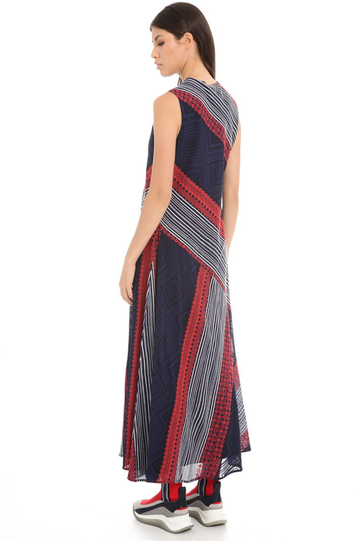 Embroidered long dress Intrend