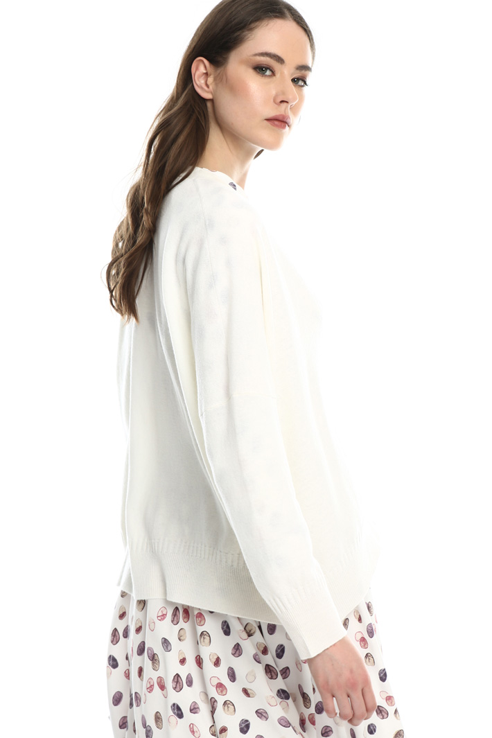 Oversized pure wool cardigan Intrend