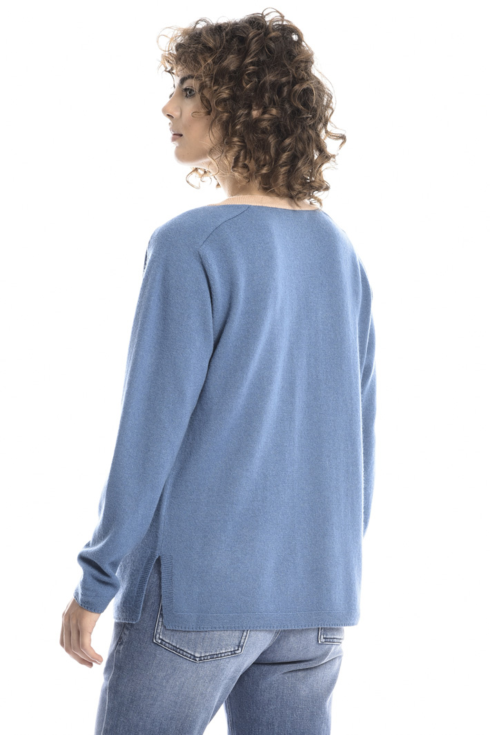 Two-tone sweater Intrend