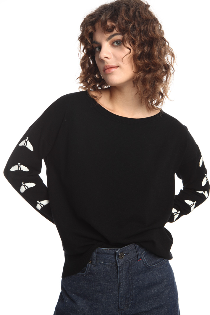 Sweater with intarsia Intrend