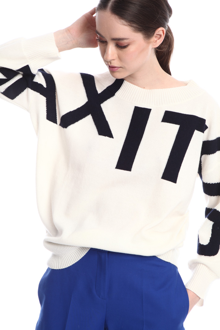 Wool-cashmere sweater  Intrend