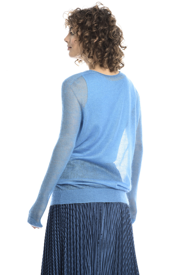 Mohair gauze sweater  Intrend