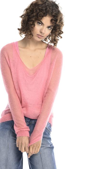 Mohair gauze sweater  Intrend