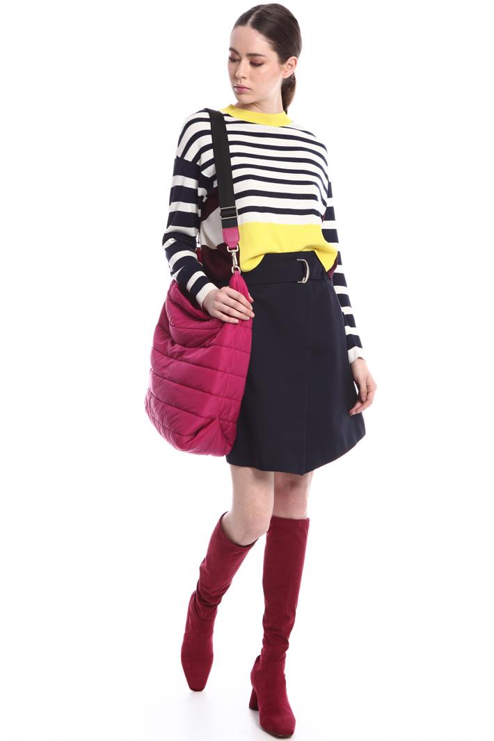 Striped silk blend sweater  Intrend
