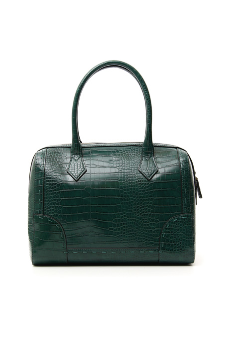 Croc Boston bag Intrend