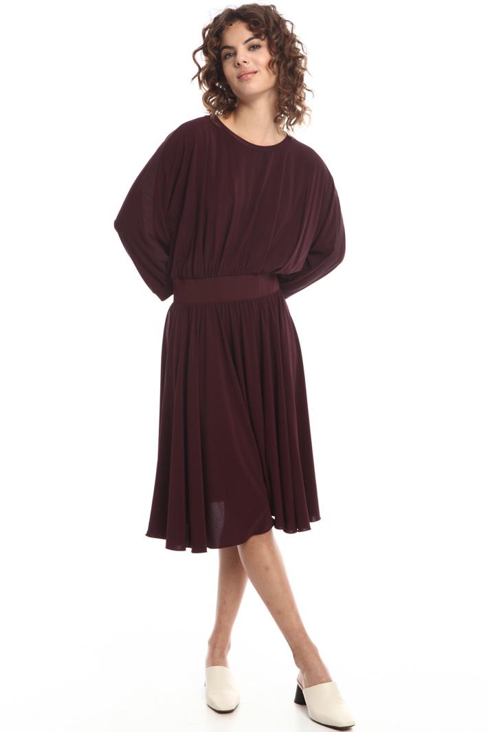 Kimono sleeve jersey dress  Intrend