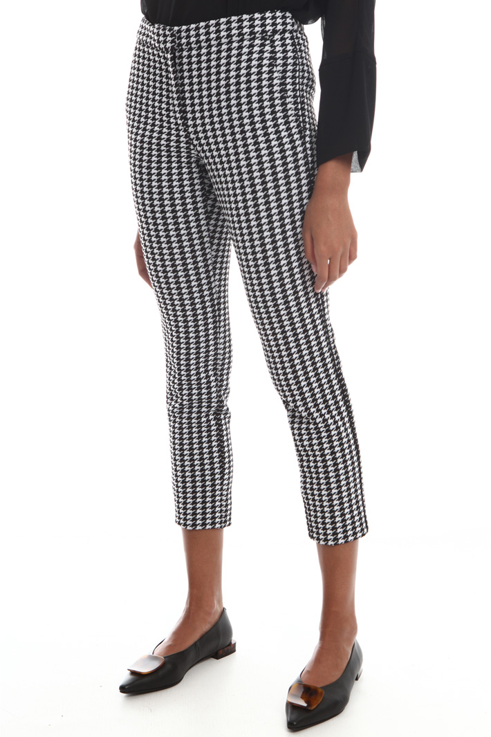 Houndstooth trousers Intrend