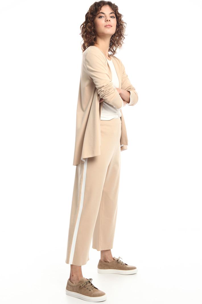 Cotton tie-waist jacket  Intrend