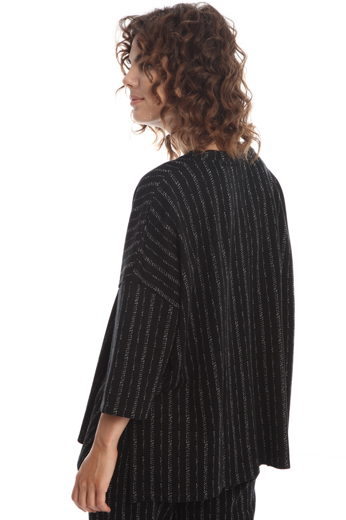 Oversized yarn dyed T-shirt Intrend