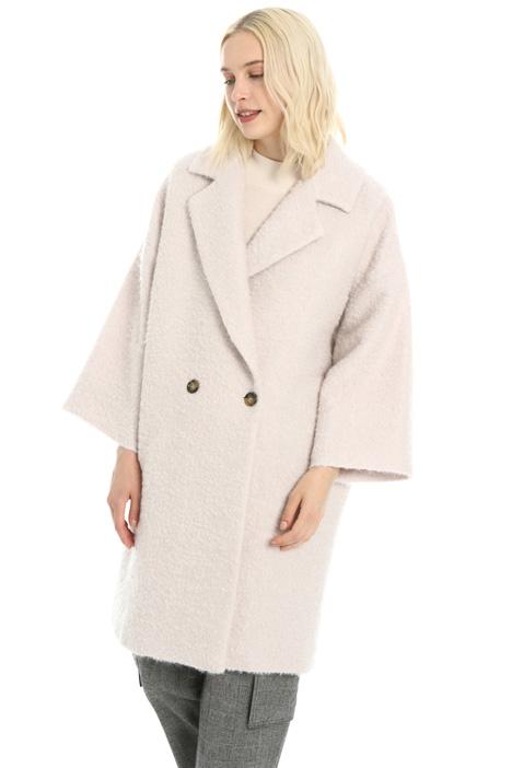 Cappotto in lana e mohair Intrend