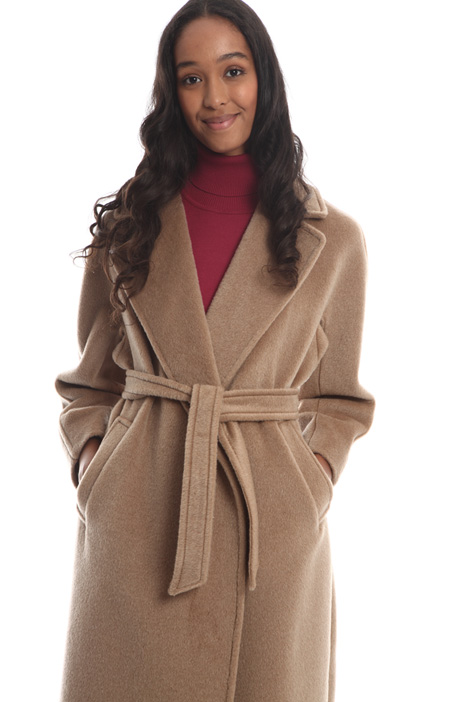 Cappotto over in lana e alpaca Intrend