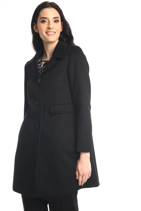 Cappotto in lana velour Intrend