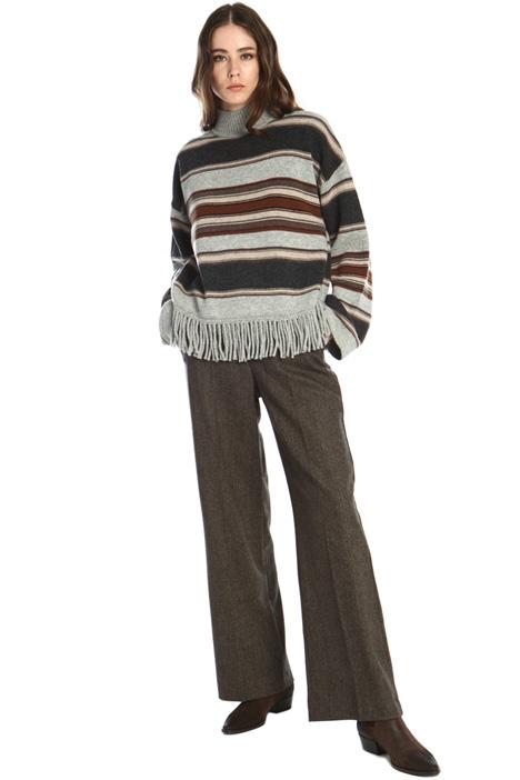 Pantaloni in lana stretch Intrend