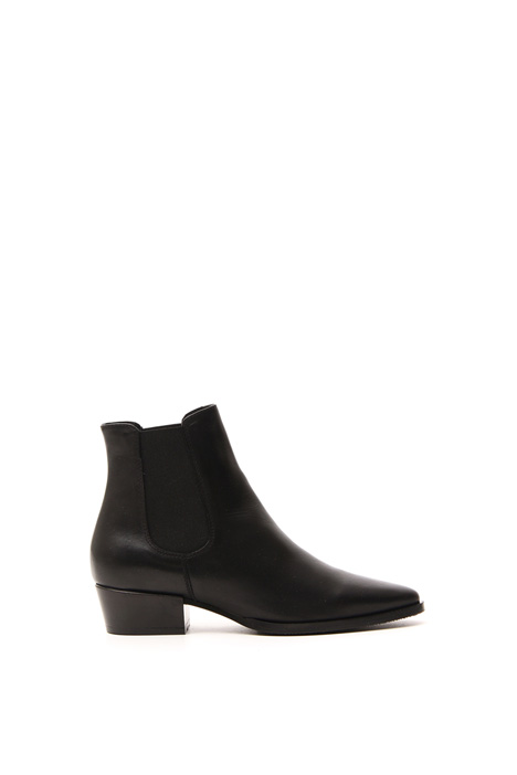 Genuine leather ankle-boots Intrend