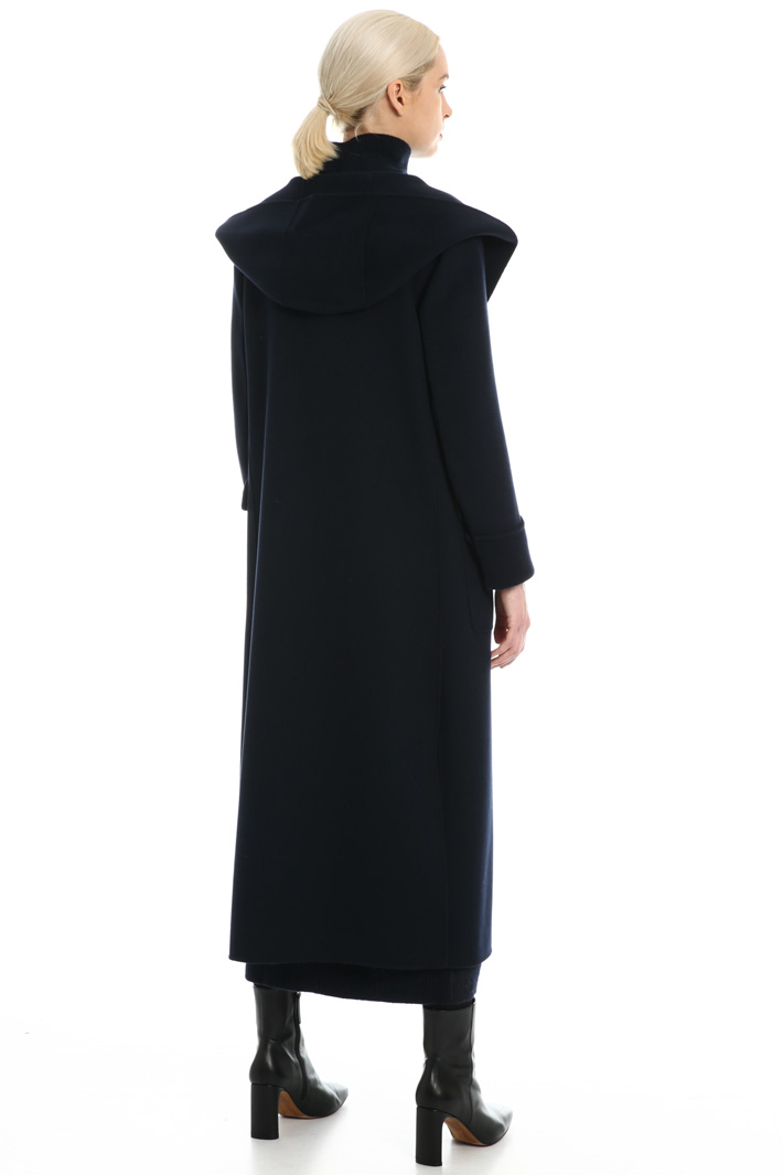 Hooded wool coat Intrend
