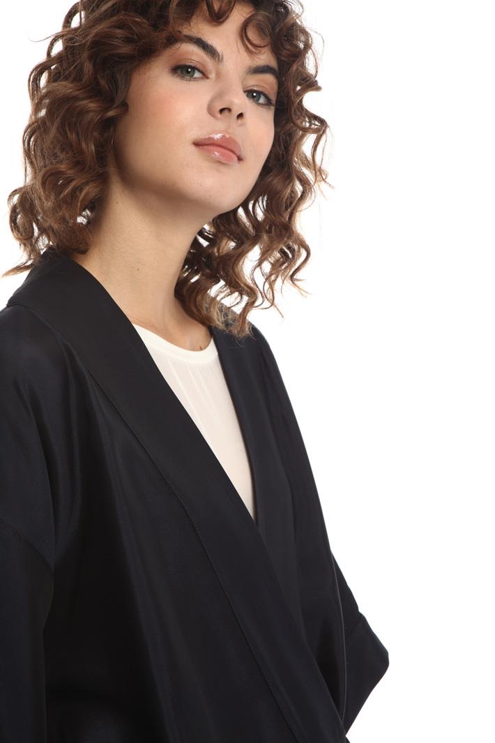 Jacquard kimono jacket  Intrend
