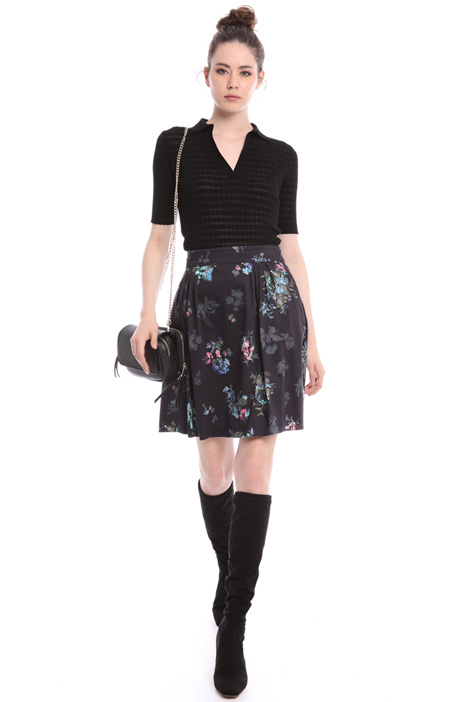 Floral corolla skirt  Intrend