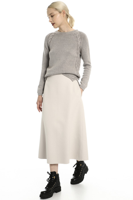 Wool and angora skirt Intrend