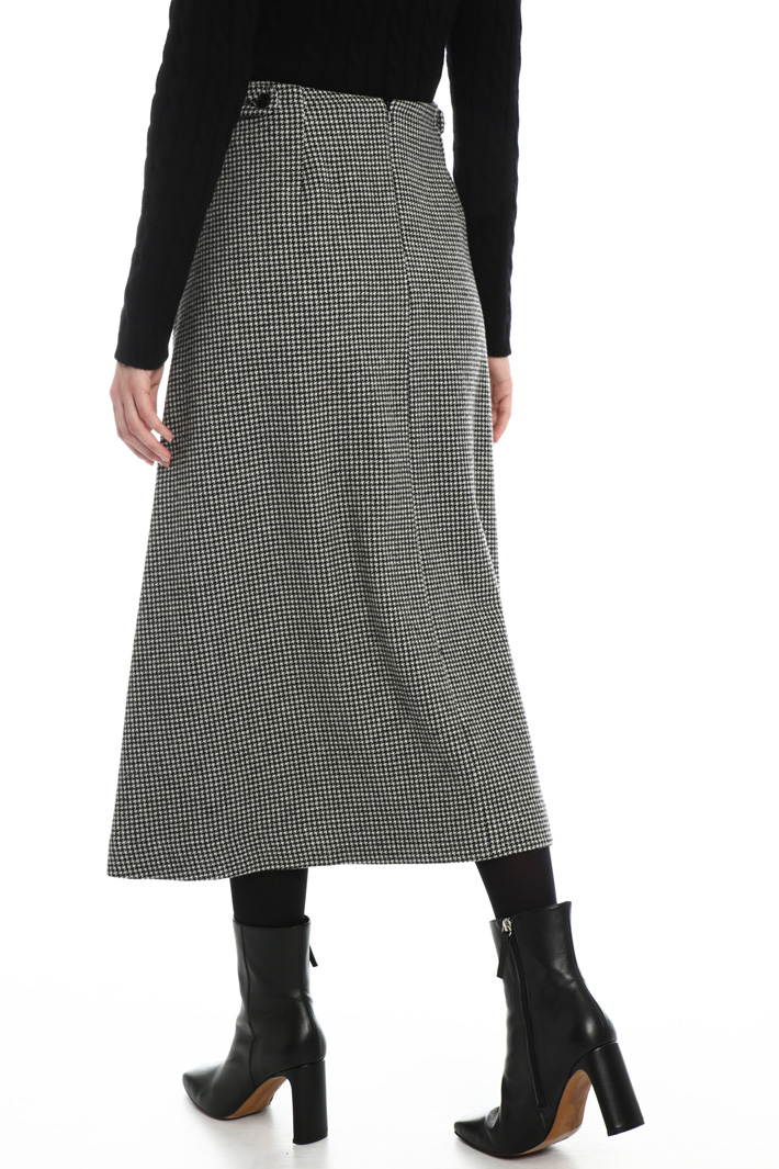 Yarn dyed skirt Intrend