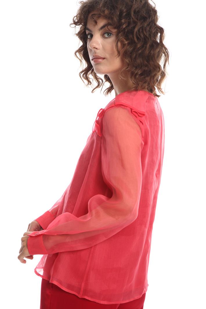 Silk organza blouse  Intrend
