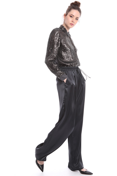 All-over sequin shirt Intrend
