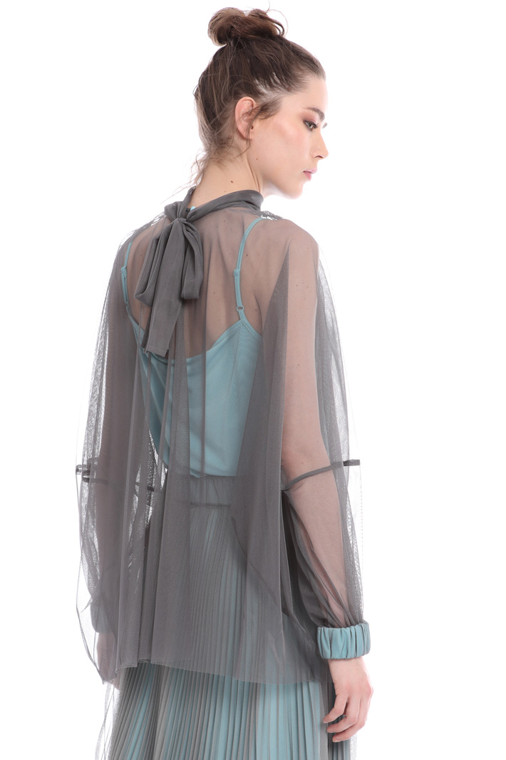 Tulle blouse Intrend