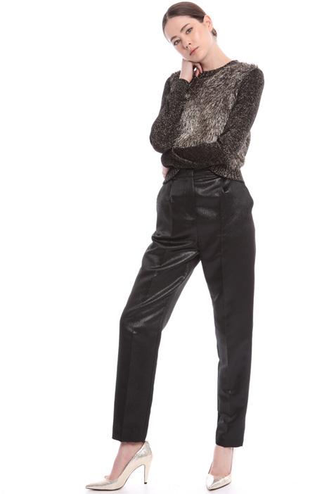 Lamé trousers Intrend