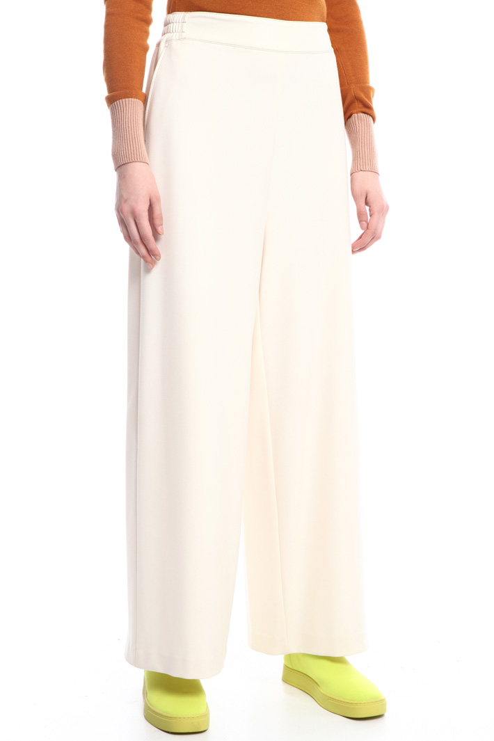 Stretch wide leg trousers Intrend