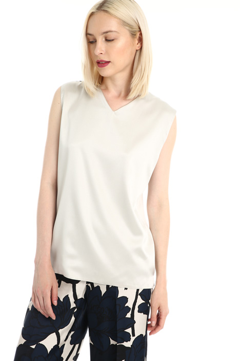 Top in seta stretch Intrend