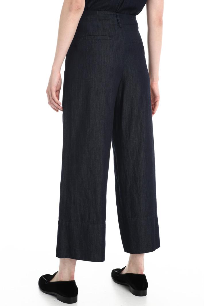 Light denim trousers Intrend