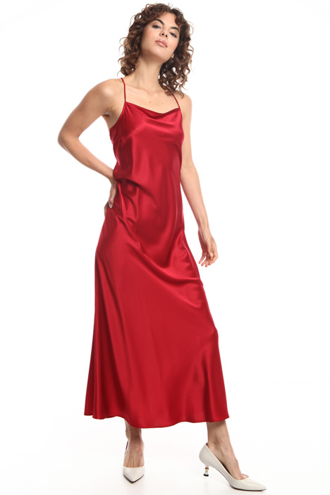 Light silk satin dress  Intrend