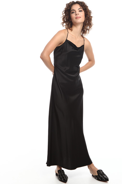 Light silk satin dress  Intrend