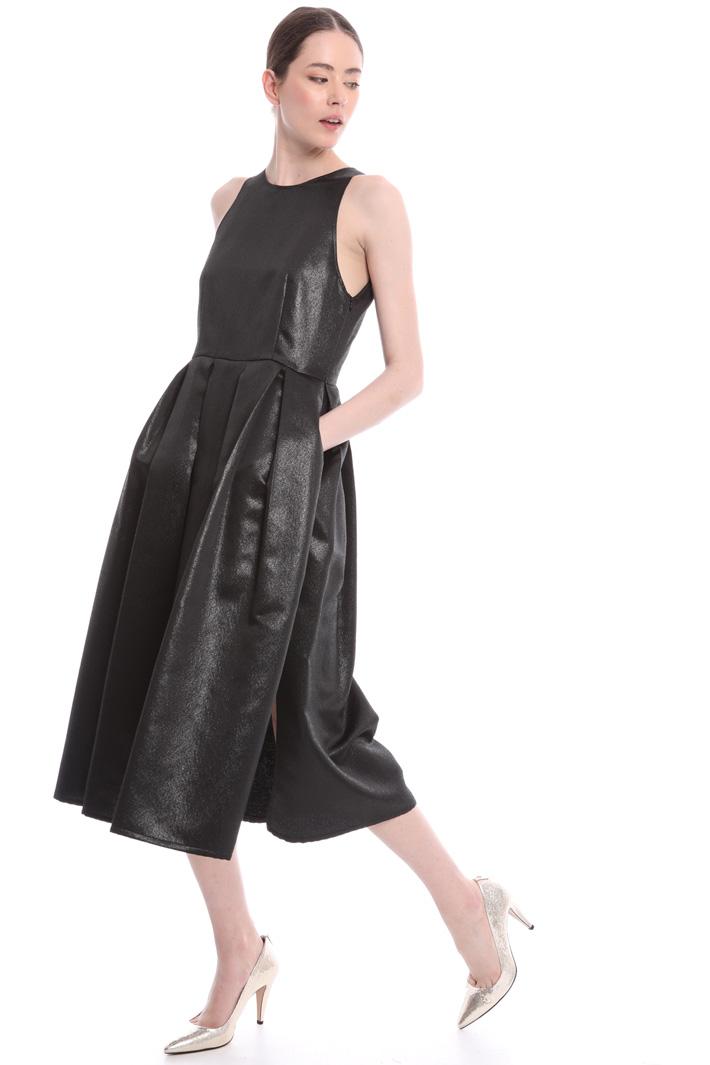 Lamé princess-line dress Intrend