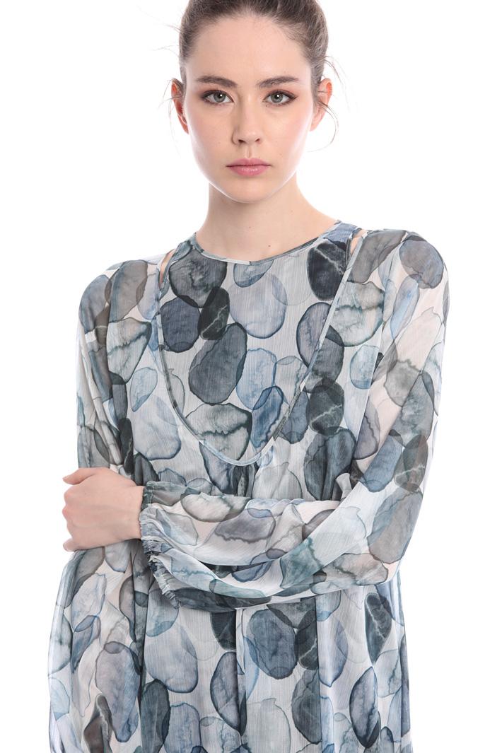 Light creponne dress Intrend