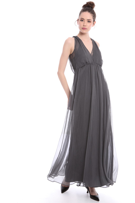 Fluid creponne maxi dress Intrend