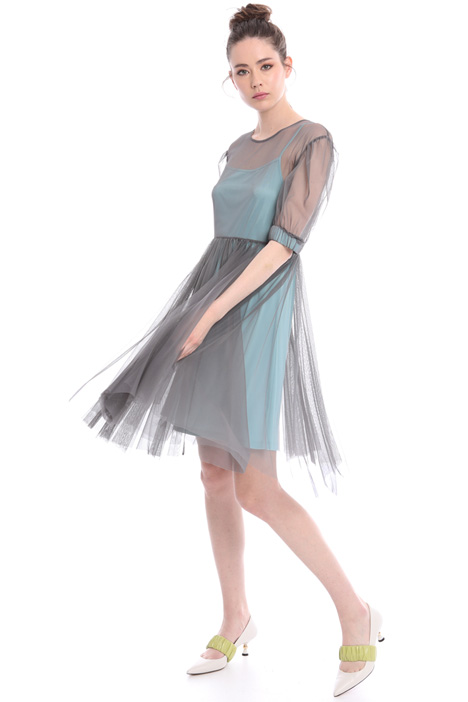 Sheer tulle dress Intrend