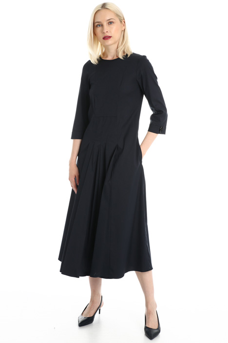 Stretch poplin dress Intrend