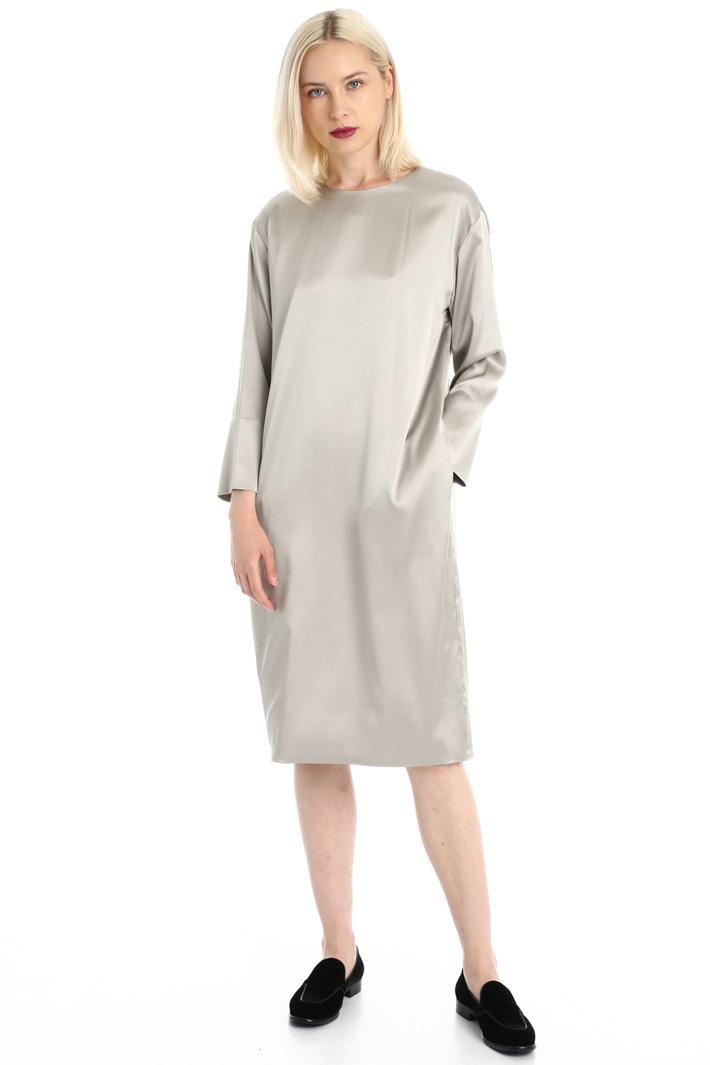 Pure silk satin dress Intrend