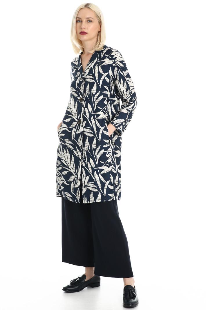 Pure twill silk tunic Intrend
